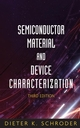 Semiconductor Material and Device Characterization, 3rd Edition (0471739065) cover image
