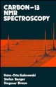 Carbon 13 NMR Spectroscopy (0471913065) cover image