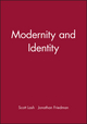 Modernity and Identity (0631175865) cover image