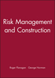 Risk Management and Construction (0632028165) cover image