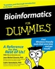 Bioinformatics For Dummies (0764516965) cover image