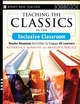 Teaching the Classics in the Inclusive Classroom: Reader Response Activities to Engage All Learners (0787994065) cover image