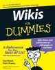 Wikis For Dummies (1118050665) cover image
