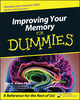 Improving Your Memory For Dummies (1118069765) cover image
