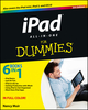 iPad All-in-One For Dummies, 5th Edition (1118496965) cover image
