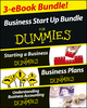 Business Start Up For Dummies Three e-book Bundle: Starting a Business For Dummies, Business Plans For Dummies, Understanding Business Accounting For Dummies (1118622065) cover image