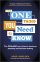 The One Thing You Need to Know: The SCQuARE way to better business planning and decision making  (1118653165) cover image