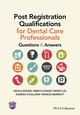 Post Registration Qualifications for Dental Care Professionals: Questions and Answers (1118711165) cover image