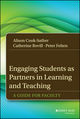 Engaging Students as Partners in Learning and Teaching: A Guide for Faculty (1118836065) cover image