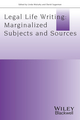 Legal Life-Writing: Marginalised Subjects and Sources (1119052165) cover image