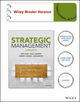 Strategic Management: Concepts (1119134765) cover image