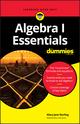 Algebra I Essentials For Dummies (1119590965) cover image