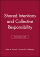 Shared Intentions and Collective Responsibility, Volume XXX (1405160365) cover image