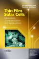 Thin Film Solar Cells: Fabrication, Characterization and Applications (0470091266) cover image