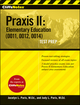 CliffsNotes Praxis II: Elementary Education (0011, 0012, 0014) (0470259566) cover image