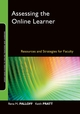 Assessing the Online Learner: Resources and Strategies for Faculty (0470283866) cover image