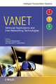 VANET Vehicular Applications and Inter-Networking Technologies (0470740566) cover image