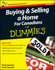 Buying and Selling a Home For Canadians For Dummies, 4th Edition (0470951966) cover image