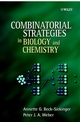Combinatorial Strategies in Biology and Chemistry (0471497266) cover image