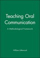 Teaching Oral Communication: A Methodological Framework (0631154566) cover image