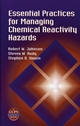 Essential Practices for Managing Chemical Reactivity Hazards (0816908966) cover image