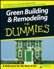 Green Building and Remodeling For Dummies (1118051866) cover image