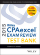 Wiley CPAexcel Exam Review 2015 Test Bank: Complete Exam (1118917766) cover image