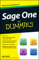 Sage One For Dummies (1119953766) cover image