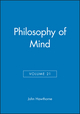 Philosophy of Mind, Volume 21 (1405184566) cover image