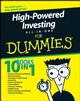 High-Powered Investing All-In-One For Dummies (0470186267) cover image
