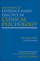 Handbook of Evidence-Based Practice in Clinical Psychology, Volume 2, Adult Disorders (0470335467) cover image