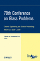 70th Conference on Glass Problems: Ceramic Engineering and Science Proceedings, Volume 31, Issue 1 (0470594667) cover image