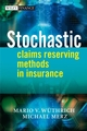 Stochastic Claims Reserving Methods in Insurance (0470723467) cover image