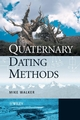 Quaternary Dating Methods (0470869267) cover image