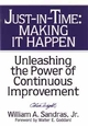 Just-in-Time: Making It Happen: Unleashing the Power of Continuous Improvement (0471132667) cover image