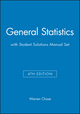 General Statistics 4E with Student Solutions Manual Set (0471380067) cover image