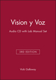 Vision y Voz, 3e Audio CD with Lab Manual Set (0471423467) cover image