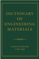Dictionary of Engineering Materials (0471444367) cover image