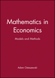 Mathematics in Economics: Models and Methods (0631180567) cover image