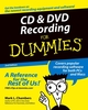 CD and DVD Recording For Dummies, 2nd Edition (0764559567) cover image