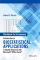 Workbook to Accompany Introduction to Biostatistical Applications in Health Research with Microsoft Office Excel (1119089867) cover image