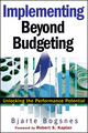 Implementing Beyond Budgeting: Unlocking the Performance Potential (1119090067) cover image