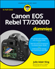 Canon EOS Rebel T7/2000D For Dummies (1119471567) cover image