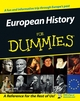 European History for Dummies (1119997267) cover image