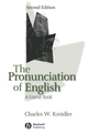 The Pronunciation of English: A Course Book, 2nd Edition (1405113367) cover image