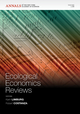 Ecological Economics Reviews, Volume 1186 (1573317667) cover image