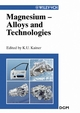 Magnesium Alloys and Technologies (3527605967) cover image