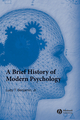A Brief History of Modern Psychology (EHEP001467) cover image