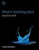 What Is Sociolinguistics? (EHEP002867) cover image