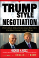 Trump-Style Negotiation: Powerful Strategies and Tactics for Mastering Every Deal (0470045868) cover image